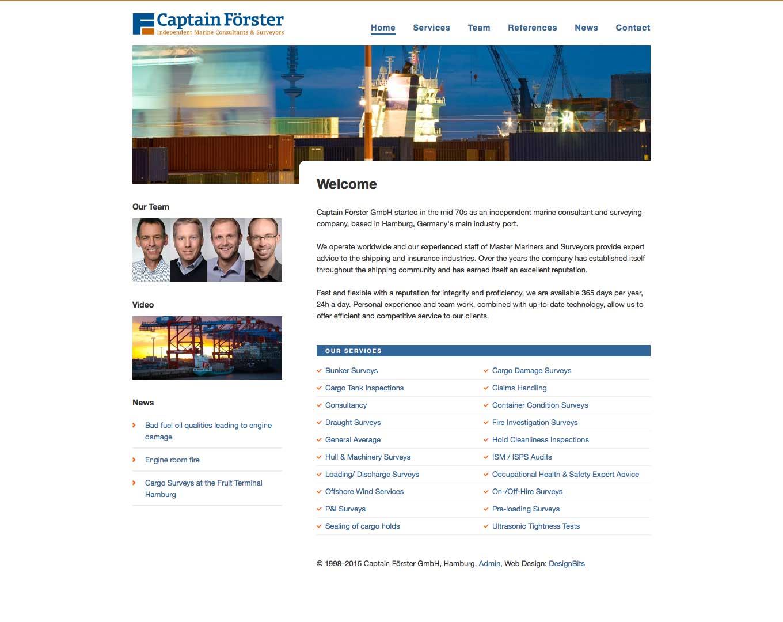 Webdesign Captain Förster GmbH