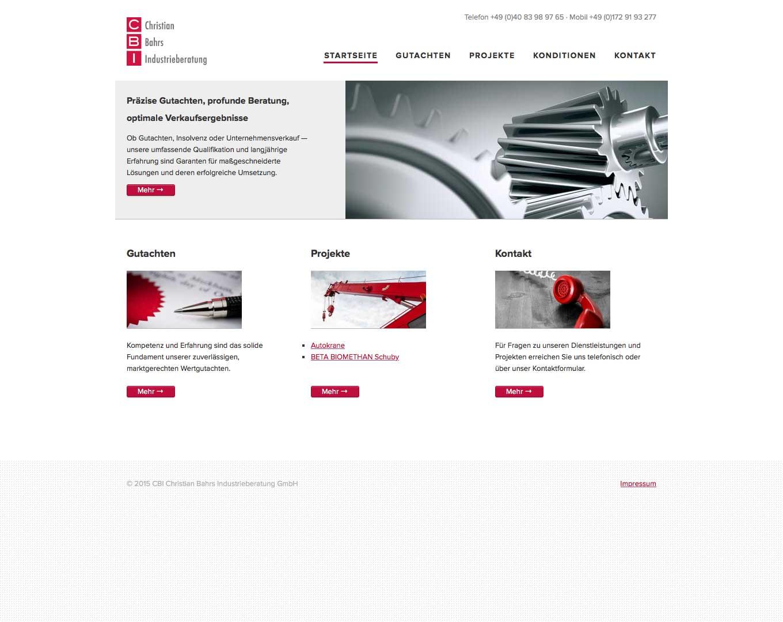 Webdesign CBI GmbH