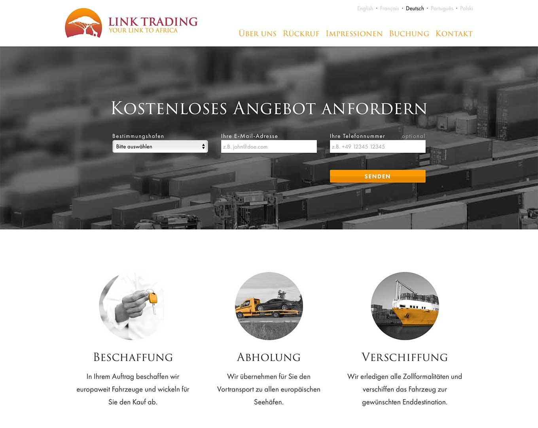 Webdesign Link Trading