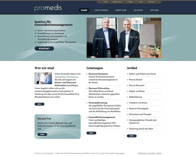 Webdesign Pro Medis
