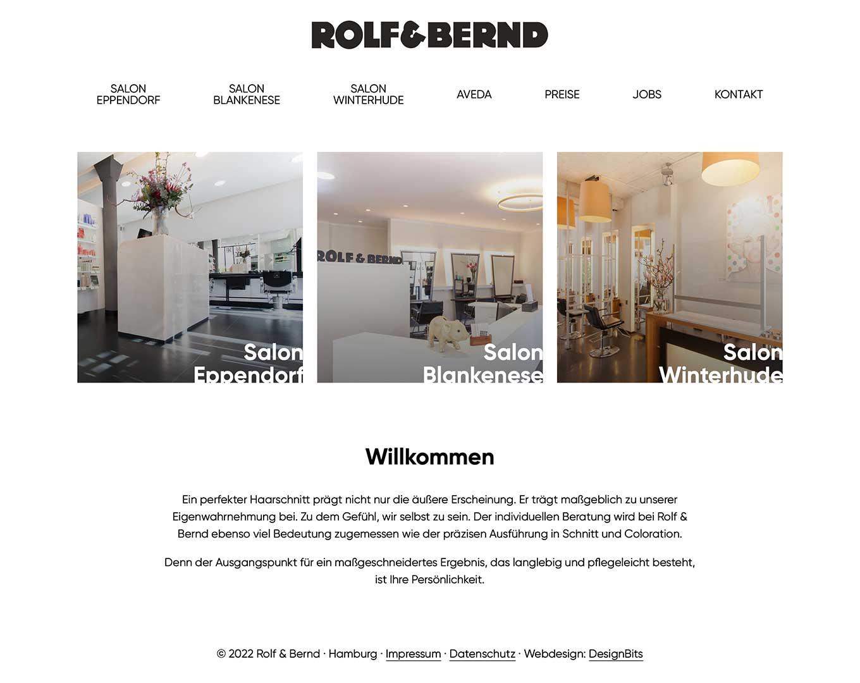 Webdesign Rolf & Bernd
