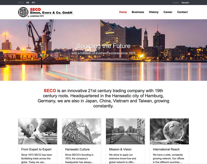 Webdesign Simon, Evers GmbH & Co. GmbH