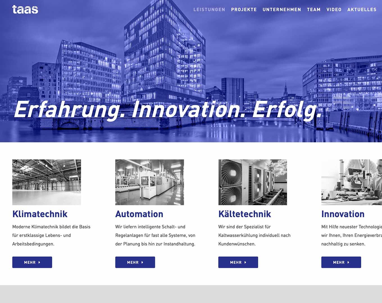 Webdesign TAAS GmbH